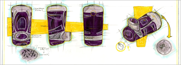 Concept-Development-Drawing-Purple-Inhaler