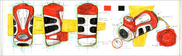 Concept-Development-Drawing-Red-Inhaler