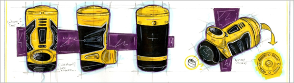 Concept-Development-Drawing-Yellow-Inhaler