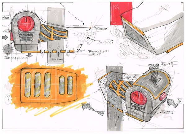 Concept-Drawing-Development-Of-Dyson-Glider