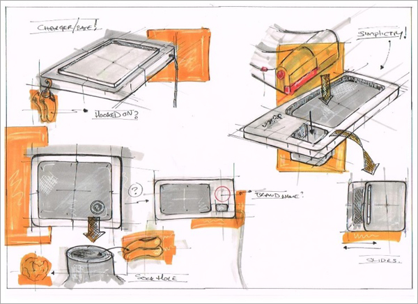 Concept-Sketching-Development-Dyson-Glider-Charger