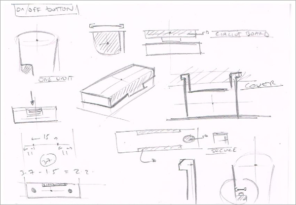 Concept-Technical-Sketching-On-Button