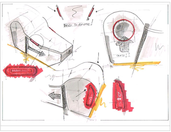 Product-Concept-Development-sketching-Release-Button