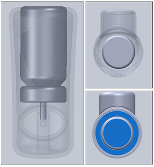 SolidWorks-CAD-Mating-Canister-And-Inhaler