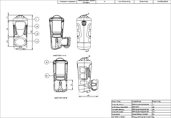 SolidWorks-General-Technical-Drawing