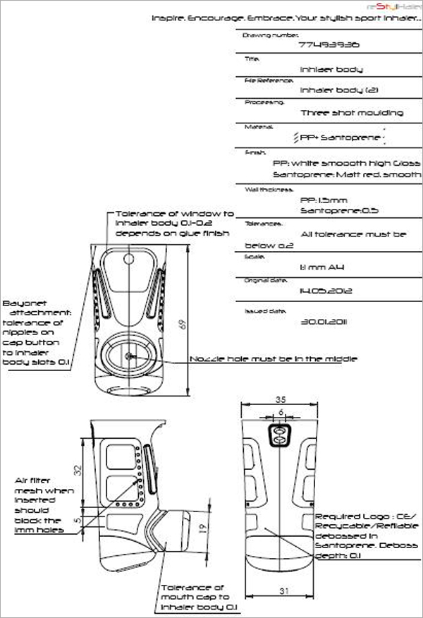 SolidWorks-Part-Technical-Drawing