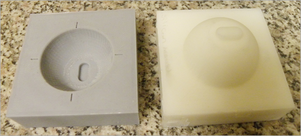 Rapid-Prototyping-Silicon-Moulding